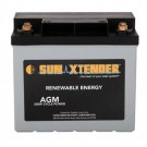 37Ah Concorde-Sunxtender 12V AGM Deep Cycle Battery